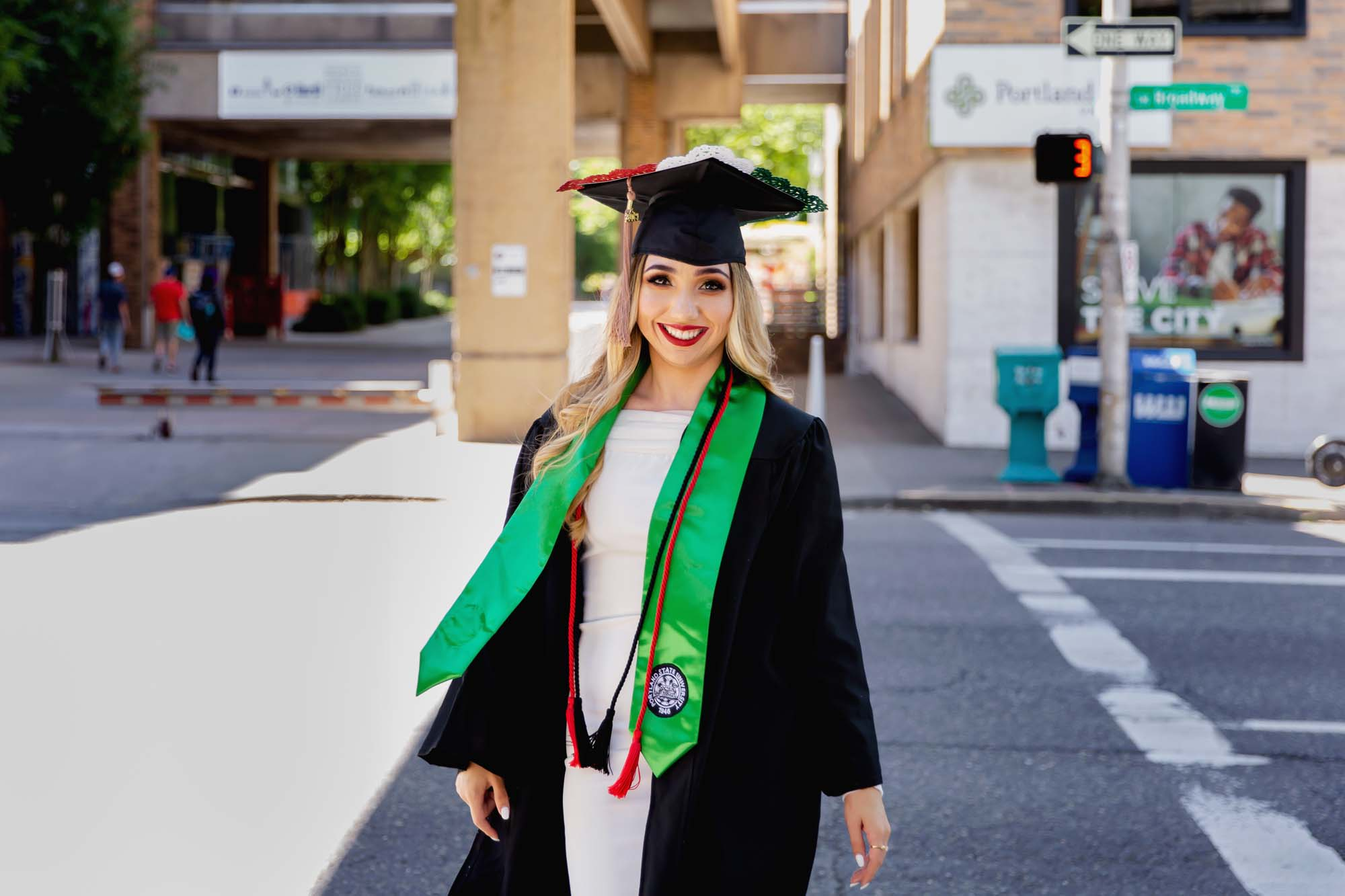 Portland State Grad Session with Photographer Annie Helen